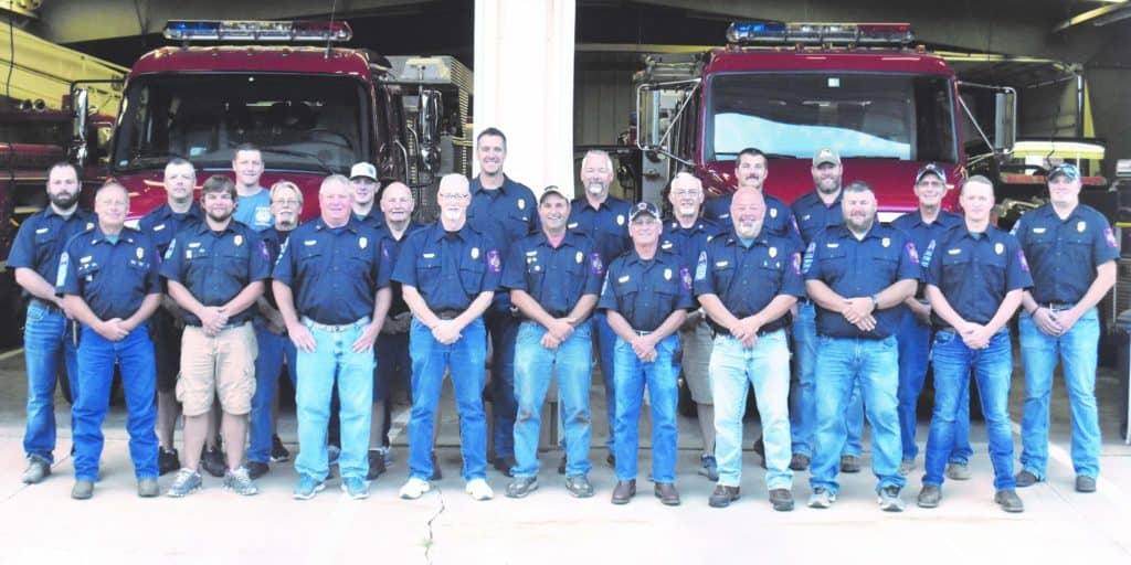 Albia Fire Department Members